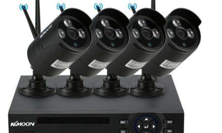 KKMoon 4 csatornás kamerarendszer – őrző szemek vigyázzák értékeinket