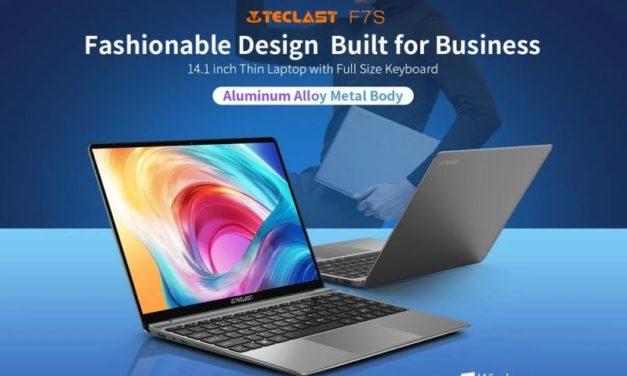 Teclast F7S laptop – Kicsi, elegáns gép a hazai árak töredékéért