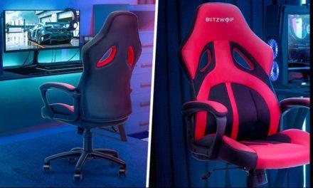 BlitzWolf gamerszékek akcióban – kényelmesen a gép előtt