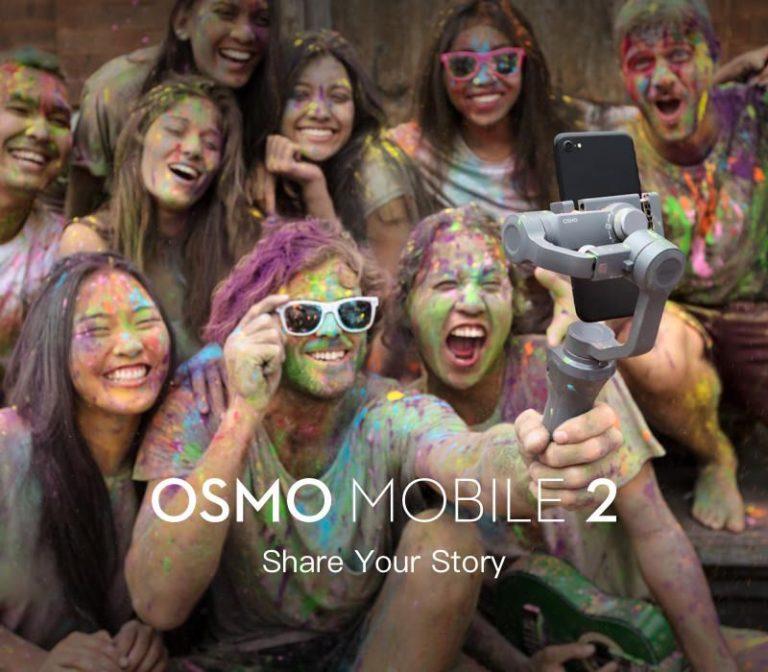 DJI Osmo Mobile 2 kézi stabilizátor – őrületes áron!