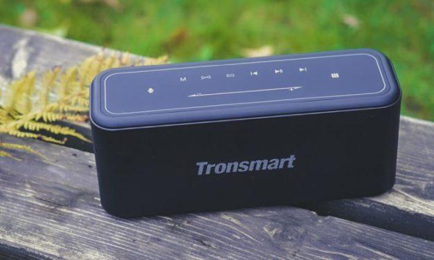 Tronsmart Element Mega Pro Bluetooth hangszóró – dübörög a hangfalból egy üzenet…