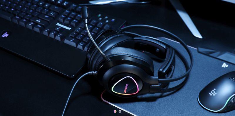 Tronsmart Glary Alpha Gaming Headset – Halld a hangokat tisztán és színesen