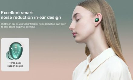 Elephone Elepods S TWS füles – kapszula a fülben