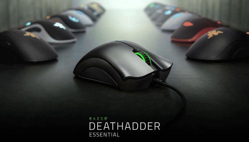 Razer DeathAdder Essential gamer egér – a visszafogott kinézetű rágcsáló