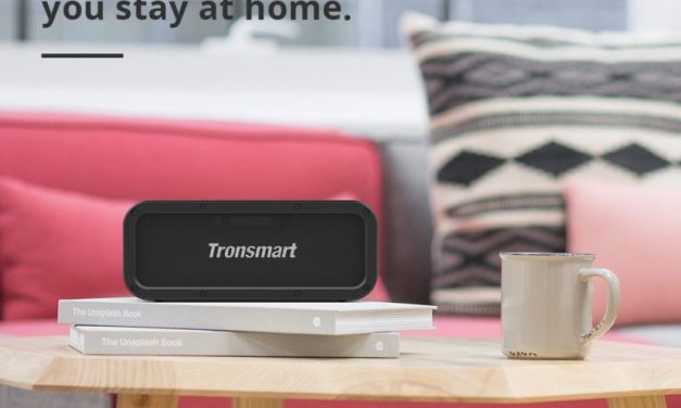 Tronsmart Force TWS hangszóró – a szögletesebb forma kedvelőinek