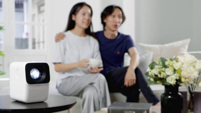 XIAOMI Wanbo T2 MAX LED projektor – mini moziélmény