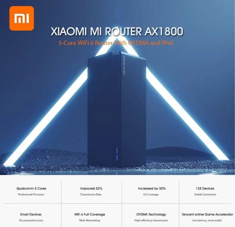 Nem akarsz mást, ha meglátod, mennyibe kerül most a Xiaomi 5 magos WiFi 6 router!