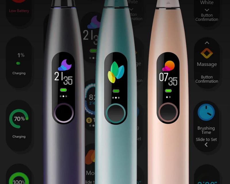 Akciós az Oclean X PRO Smart Touch okosfogkefe: tiszta fogak, rendes száj!