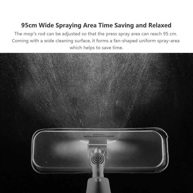 Xiaomi Deerma Water Spray Mop 360 - Neked még nincs? Itt van!