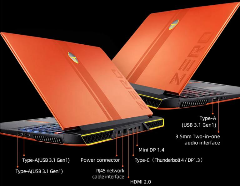 ThundeRobot ZERO - Gamer notebook GeForce RTX 3070-nel, akár bányászatra is!